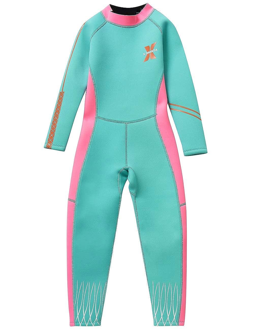 9952963488 Gogokids Kids Wetsuit Boys Girls Rash Guard One Piece Neoprene Swimsuits  Boys
