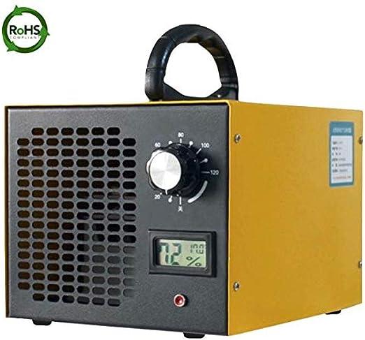 buyaolian Ozonizador,Inicio Generador De Ozono Purificador De Aire Ozonizador con Máquina Purificador De Ozono Comercial De 10.000 MG/Hora para Mascotas Y Automóviles En La Sala De Fumadores: Amazon.es: Hogar