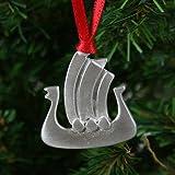 Viking Ship Pewter Ornament