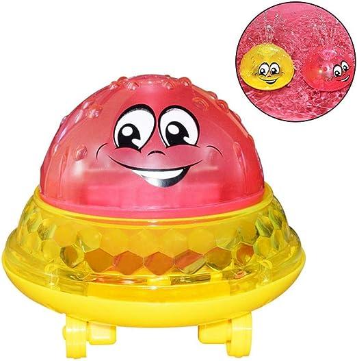 Hamkaw Juguetes de baño para niños, Juguete con Pelota Sprinkler ...