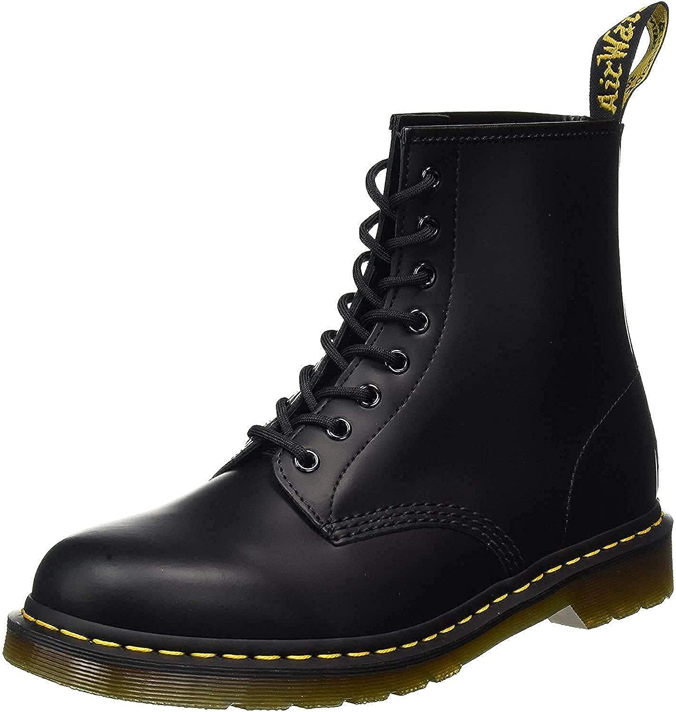 black dm boots
