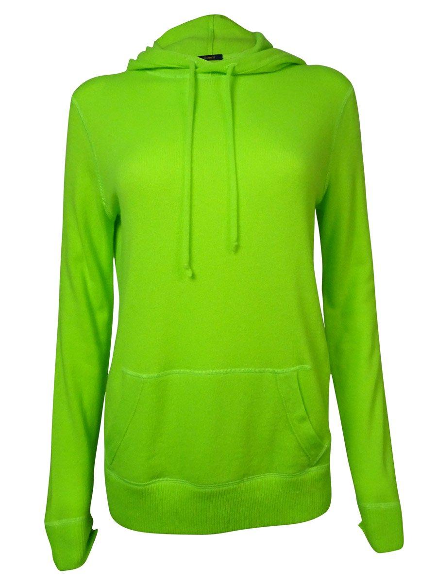 Polo Ralph Lauren Women's Cashmere Hoodie Medium Neon Green
