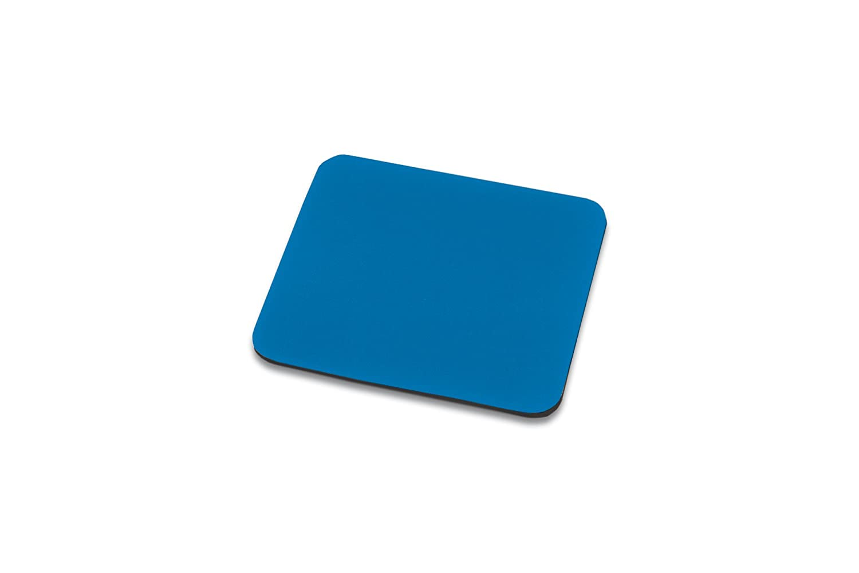 Ednet E64221 Tappetino per Mouse, 3 mm, 25 x 22 cm Maus Pad ednet blau