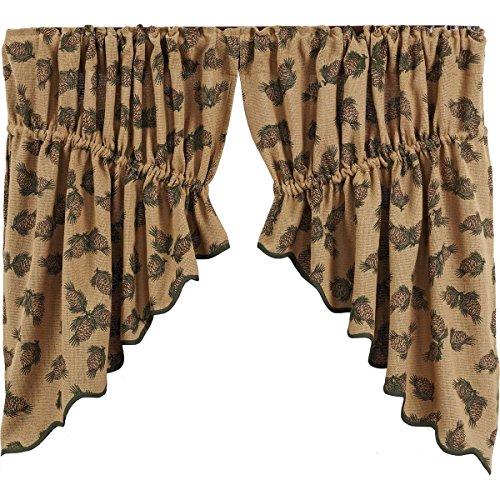 Pinecone Kitchen Curtains Kitchencurtains Org