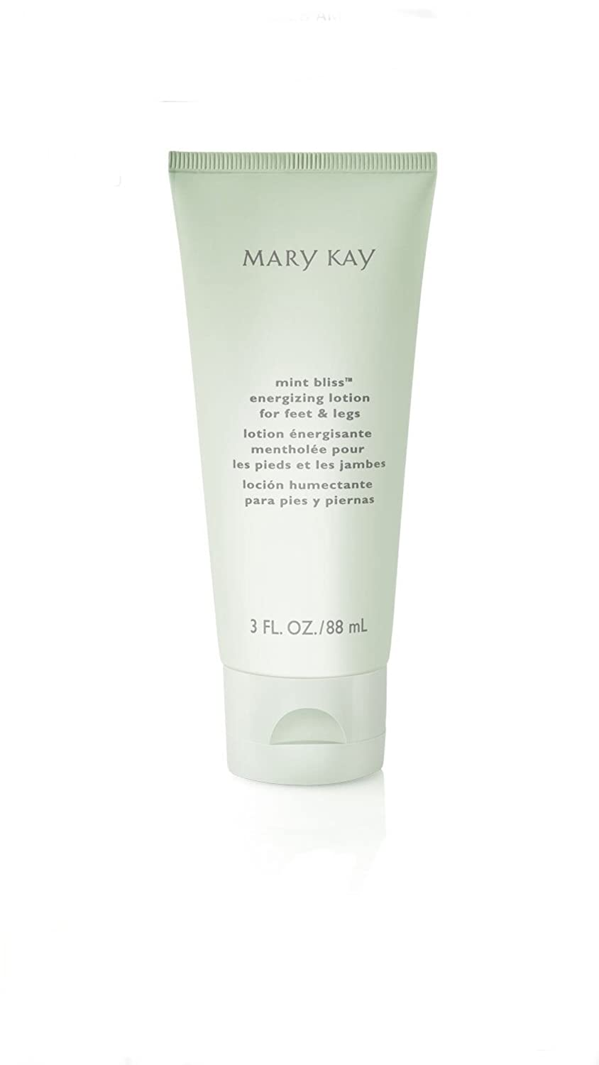 Mary Kay Private Spa Collection Mint Bliss Energizing Lotion for Feet & Legs, 3 oz