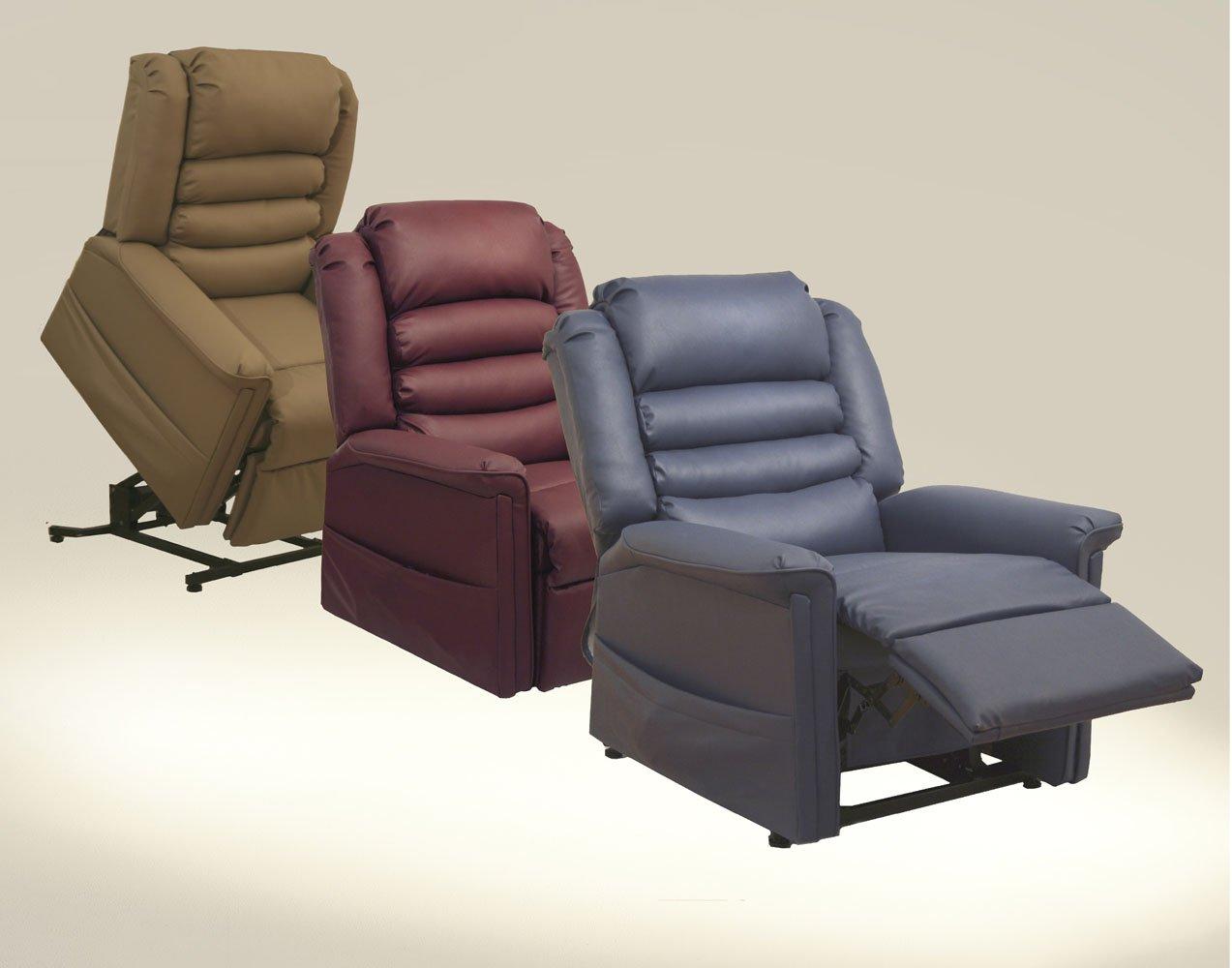 amazoncom invincible power lift recliner cabernet health u0026 personal care