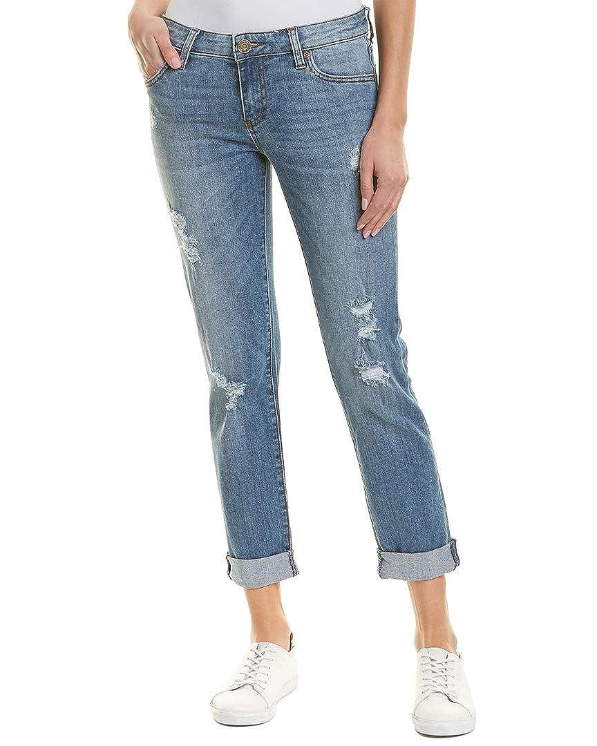 408303d2 KUT from the Kloth Womens Katy Earl Grey Boyfriend Cut, 2, Blue at Amazon  Women's Jeans store