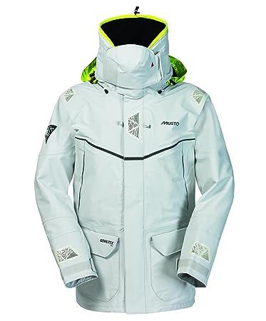 Amazon.com : Musto MPX Offshore Jacket - Platinum XXL ...
