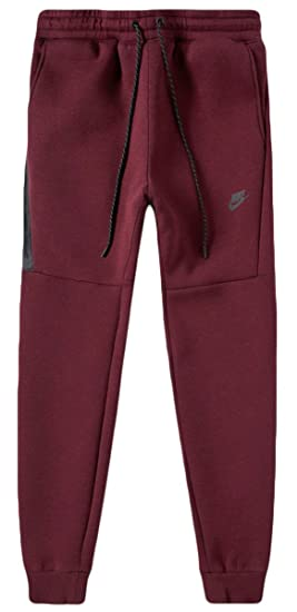c34be236a36 Men's Nike Sportswear Tech Fleece Jogger Pants Night Maroon 806696 ...