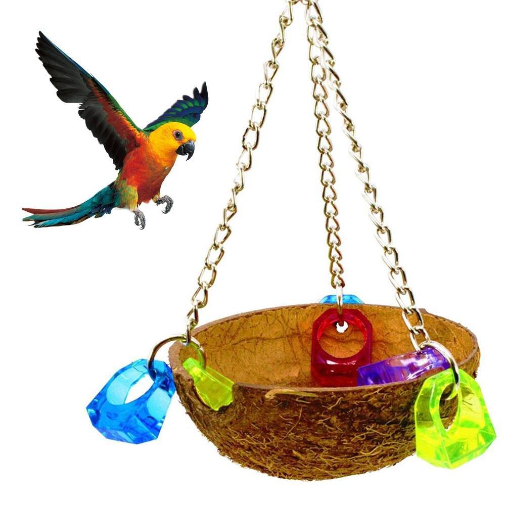 jouets pour oiseaux pour perroquet mastication jouet jouet nid d'abeille naturel nid d'oiseau nid d'oiseau hamac balan?oire balan?oire jouet perroquet oiseau morsure d'oiseau animal jouet ? m?cher pen iBasteFR