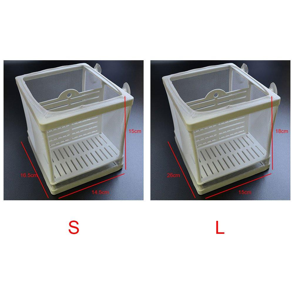 SDYDAY - Caja de plástico para Acuario, 2 Unidades de Hatchery para ...