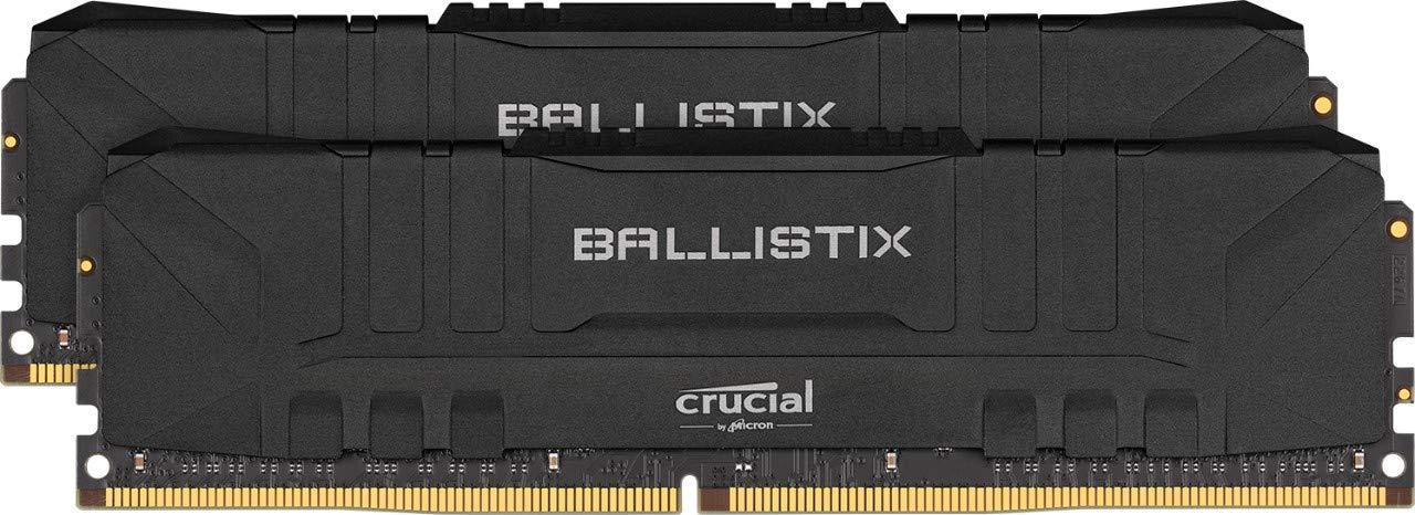 Memoria Crucial Ballistix 2666MHZ DDR4 16GB 8GBx2 8G26C16U4B