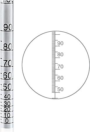 Densimetro Alcohol Medidor, HTBAKOI Densímetro Medidor de Alcohol Grados 0-100% Alcoholímetro Medición Precisa Hecho de Material Ecológico [Caja de Madera Incluida]