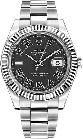 Amazon.com Rolex Oyster Perpetual DateJust II 116334 Grey