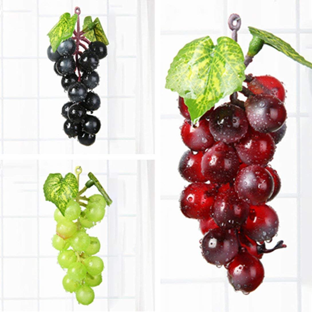 Swiftswan 1 K/ünstliche Obst Trauben Kunststoff Gef/älschte Dekoration Obst Realistische Familie Hochzeit Garten Dekoration Mini Simulation Obst
