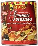 nacho hot cheese sauce - Rico's Gourmet Nacho Cheese Sauce, 6 Pound 10 Ounce