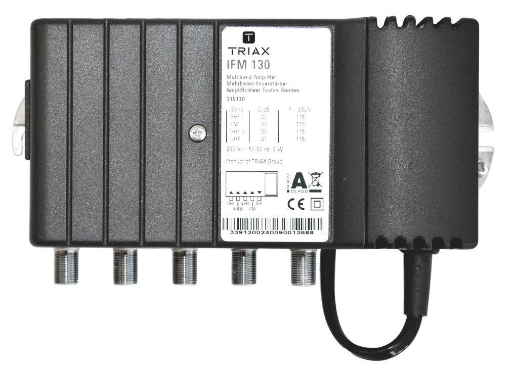 Triax GNS 30 Verst/ärkung 30 dB wei/ß