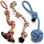 Pacific Pups Products supporting pacificpuprescue.com dog rope toys for aggressive chewers-set of 11 nearly indestructible dog toys-bonus giraffe rope toys-benefits non profit dog rescue. 13
