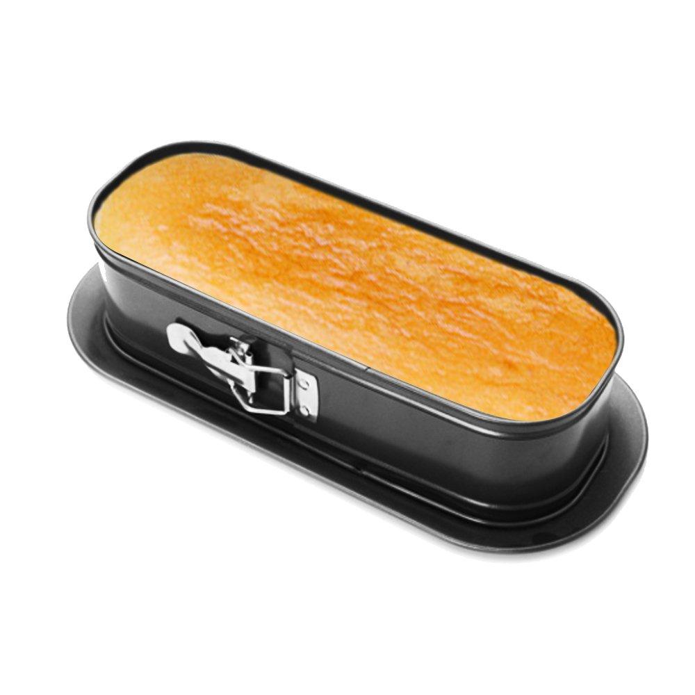 HOMOW Nonstick Bakeware Springform Pan,Cake Pan, Cheesecakes Pan (13'' X 6'' X 3'' Springform Pan)