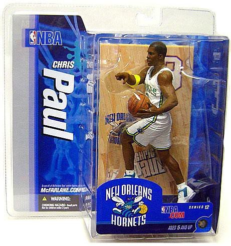 McFarlane Toys NBA Sports Picks Series 12 Action Figure Chris Paul (New Orleans Hornets) White -