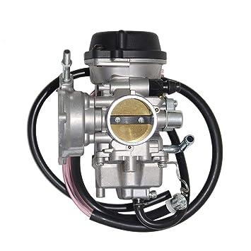 Amazon.com: Carburador para SUZUKI LTZ400 LTZ 400 Quad ATV ...