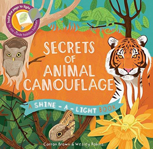 Secrets of Animal Camouflage: A Shine-a-Light - Animal Camouflage