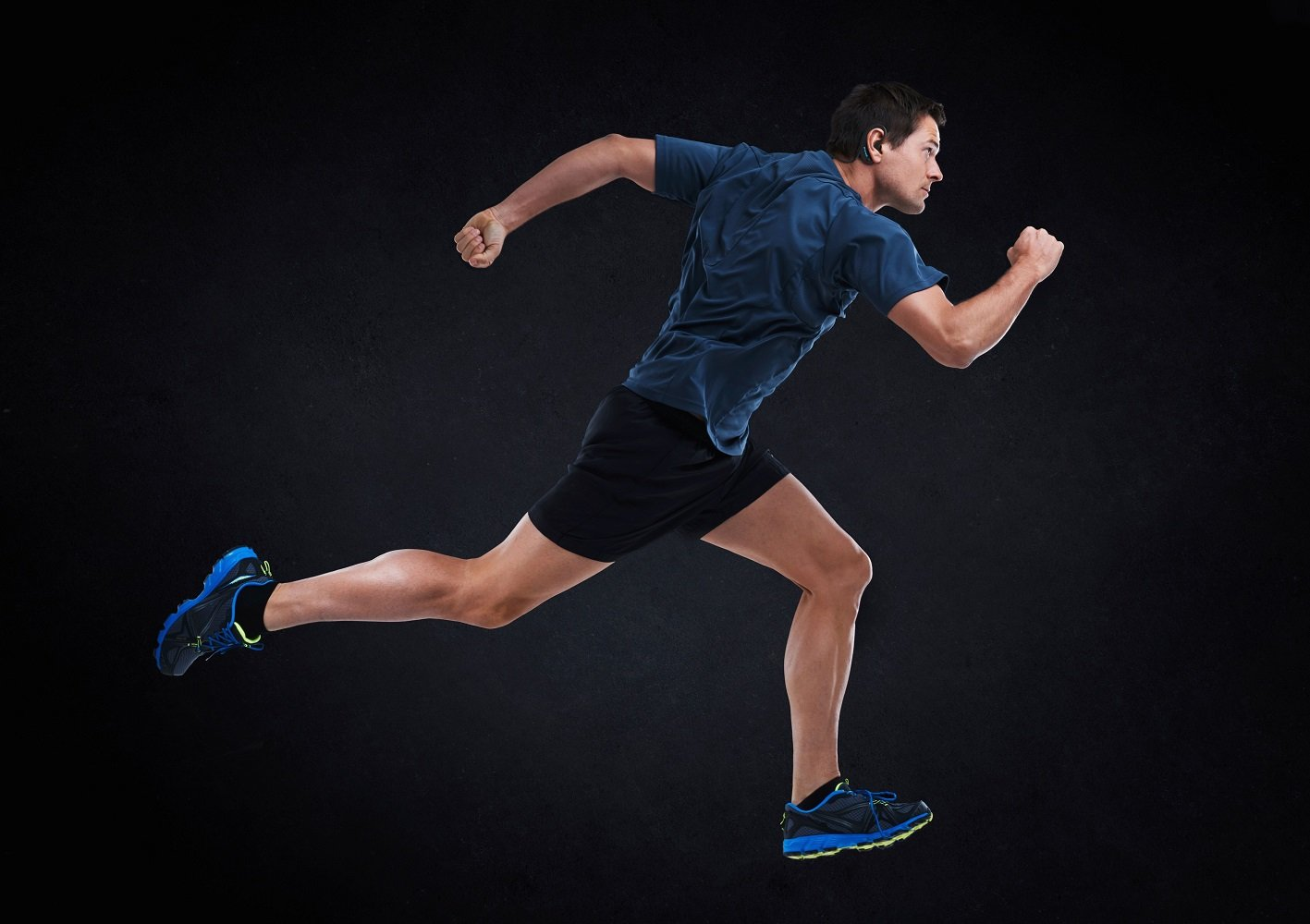KuaiFit Sport Headphones - Heart Rate, Accelerometer, MP3, 8GB Memory, BLE, ANT+, Sweatproof, Audio Coach - Run Cycle Gym Triathlon by KuaiFit (Image #3)