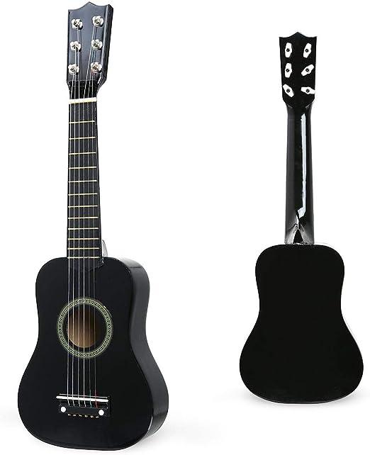 Womdee Guitarra acústica clásica para niños, 21 Pulgadas, Guitarra ...