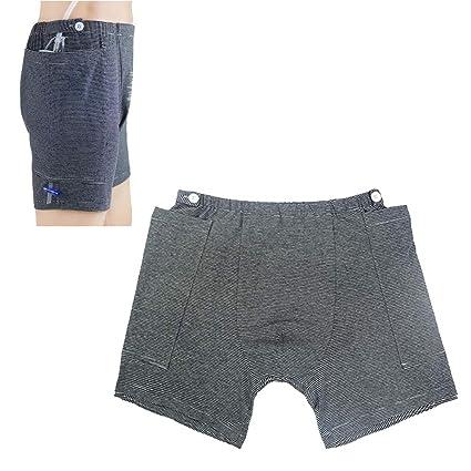 UUK Cuidados para La Incontinencia Pantalones para Personas Mayores, Pantalones De Saco De Drenaje De