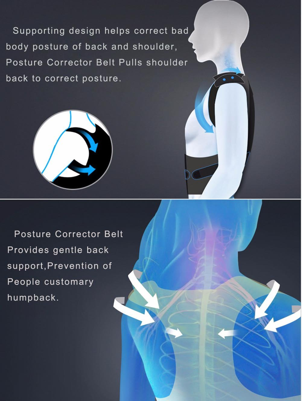 Image result for back pain corrector graphic