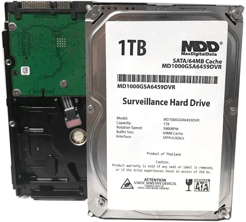 1000GB 1TB XVIM DVR NVR Compatible Hard Drive Internal SATA 3.5 FREE SHIPPING