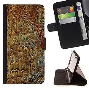 Momo Phone Case / Flip Funda de Cuero Case Cover - Piel Cerrar ampliada Moderno Arte Aleatorio - Samsung ALPHA G850