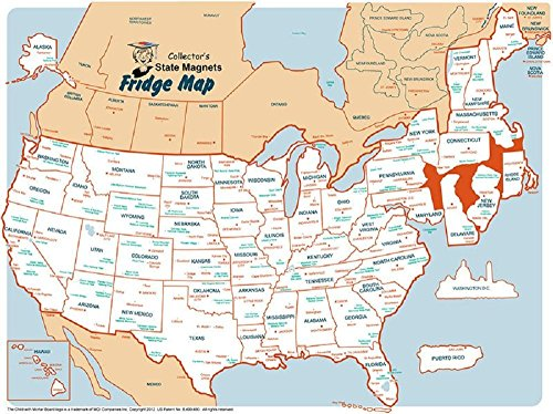 State Magnet Static Collectors Map