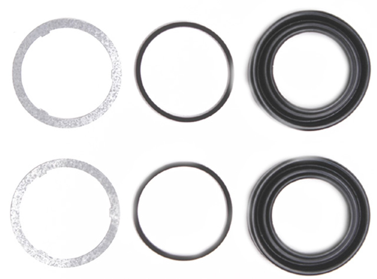 ACDelco 18H162 Professional Front Disc Brake Caliper Boot and Seal Kit with Boots and Seals