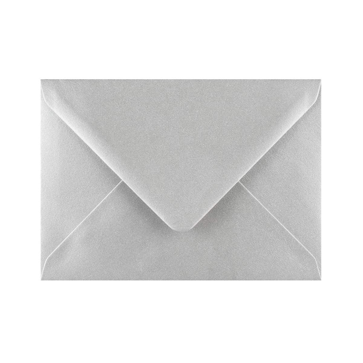 Multi Coloured C6 Gummed Metallic Envelopes. 100 Metallic Colour Envelopes