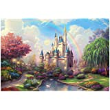 Kanzd Jigsaws,New Creative Puzzle 1Set 1000 Pieces Jigsaw Puzzle for Kids Adult –Dream Castle Jigsaw Puzzle