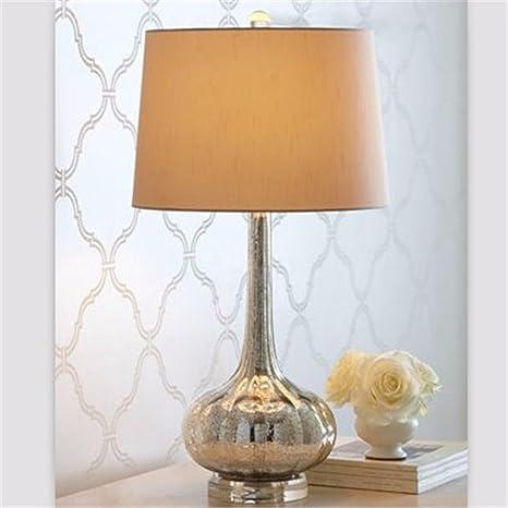 CJSHV-Lámpara de mesa Vidrio Simple Moda Moderna Lampara De ...