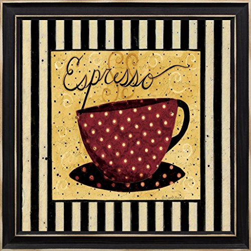 16x16 Have A Cup by DiPaolo, Dan: Distressed Classic Black DDPX-SQ-317A