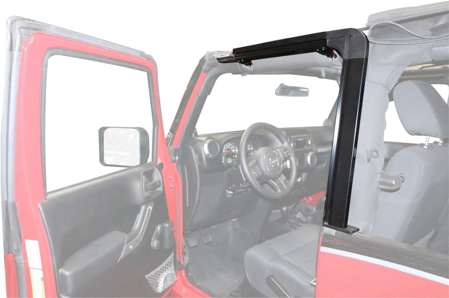 Liftgate Lift Support fits 2007-2009 Jeep Wrangler  RAMPAGE PRODUCTS