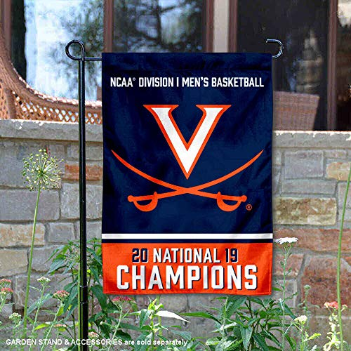 College Flags and Banners Co. Virginia Cavaliers 2019 NCAA National Champions Garden Flag