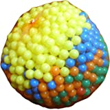s/o Frosted Bouncy Ball 27 mm PACK OF 100 Balls Set Party Bag Tombola Children's Birthday (0432)