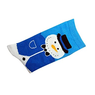 Foruu - Calcetines de invierno para mujer, cálidos y suaves, para regalo de Navidad