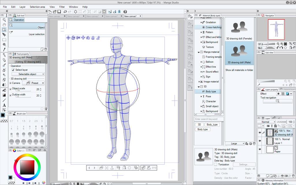 Manga Studio 5 Software