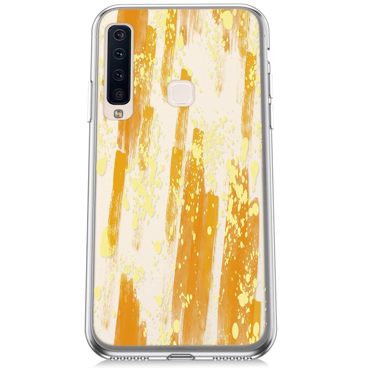 Felfy Kompatibel mit Galaxy A9 2018 H/ülle,Kompatibel mit Galaxy A9 2018 Handyh/ülle Transparent Silikon Schutzh/ülle Elegant Muster Ultrad/ünn Weich Gel Kristall Klar Silikonh/ülle Sto/ßfest Cover Case