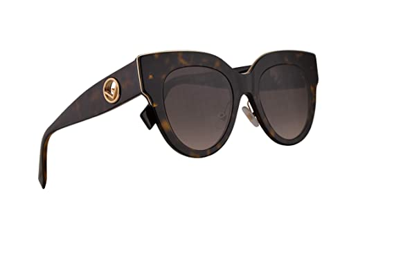 Amazon.com: Fendi FF0360/G/S - Gafas de sol, 2.008 in, 086HA ...