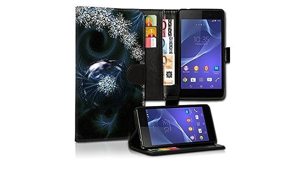 Portatil Style LG L Bello Premium de PU piel Flip Cartera Funda ...
