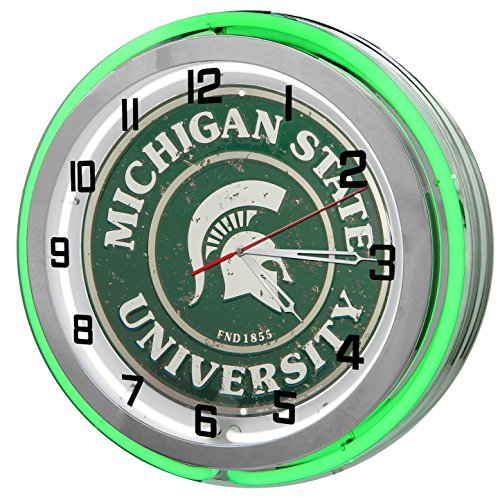 Michigan State MSU Spartans Green 18