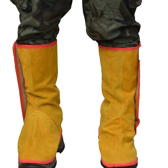 Tubayia - 1 par de guantes de seguridad para soldar: Amazon.es: Bricolaje y herramientas