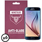 Samsung Galaxy S6 Screen Protector Pack, Matte Anti Glare by Minotaur (6 Screen Protectors)