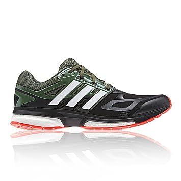 zapatillas de running de hombre response boost techfit adidas